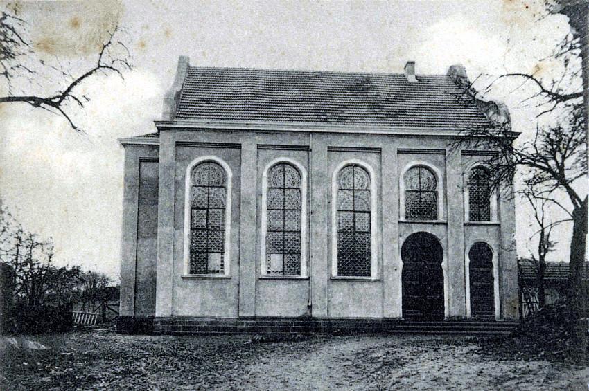 Ringstraße - Neue Synagoge, geweiht 1910