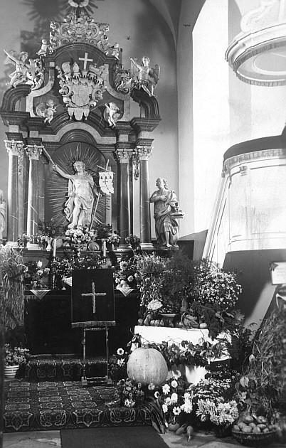 Erntedankfest in der evang. Kirche