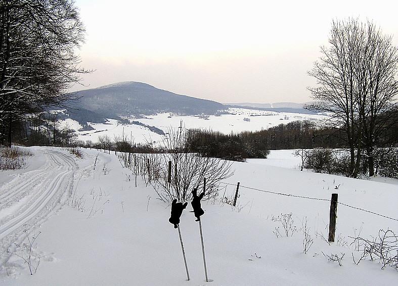 Blick zum Baier (Thüringen)