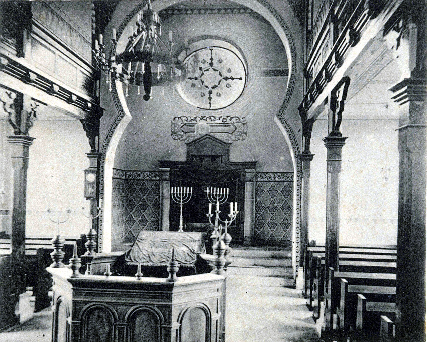 Im Innern der Neuen Synagoge