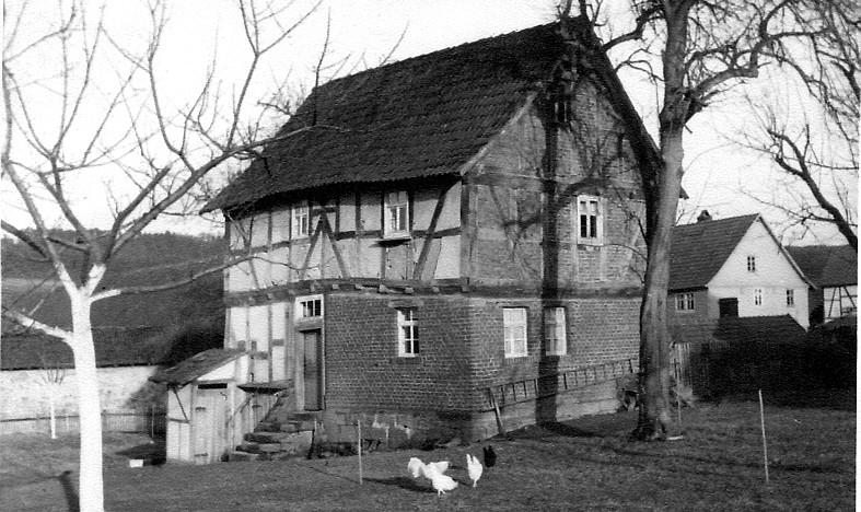 Das ehemalige Pfarrhaus im Pfarrgarten