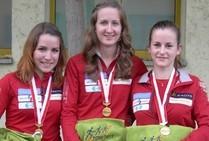 Das Gold-Team von Martina