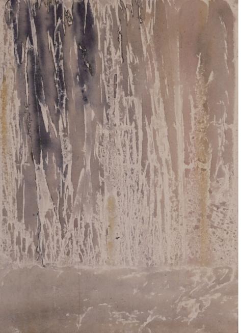"""Kathedrale im Eis"" | 50cm x 70cm | Acryl auf Leinwand"