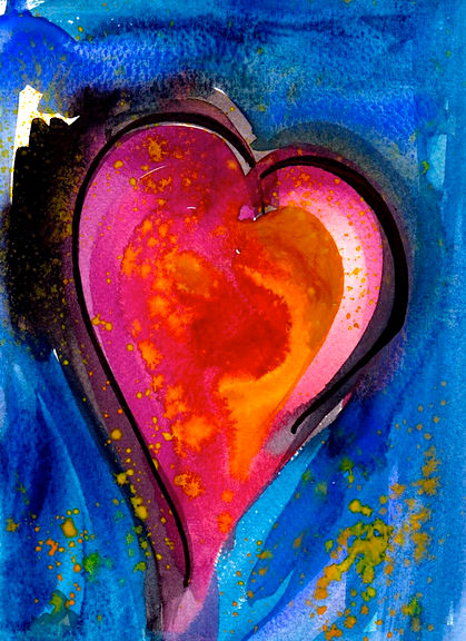 Watercolor by Eleanor