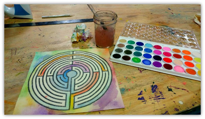 The Finger Labyrinth - Creative Self-Care Class