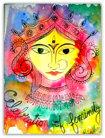 Painting by Priya Mani