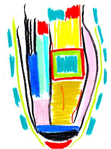 Gestural Pastel by Shelley Klammer