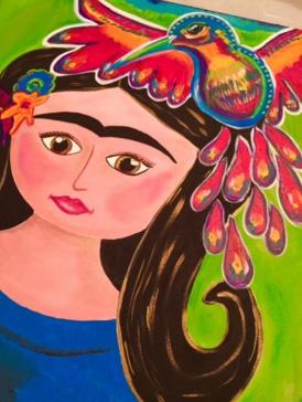 Painting by Heidi Easley