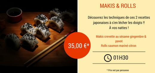 cours de cuisine japonais nantes