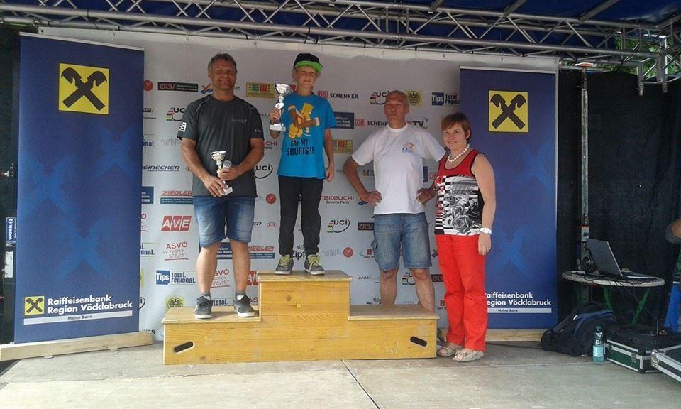 1. Platz 01.08.2014 grüne Spur Vöcklabruck