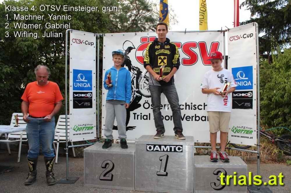 2. Platz Trial in Retz 2013
