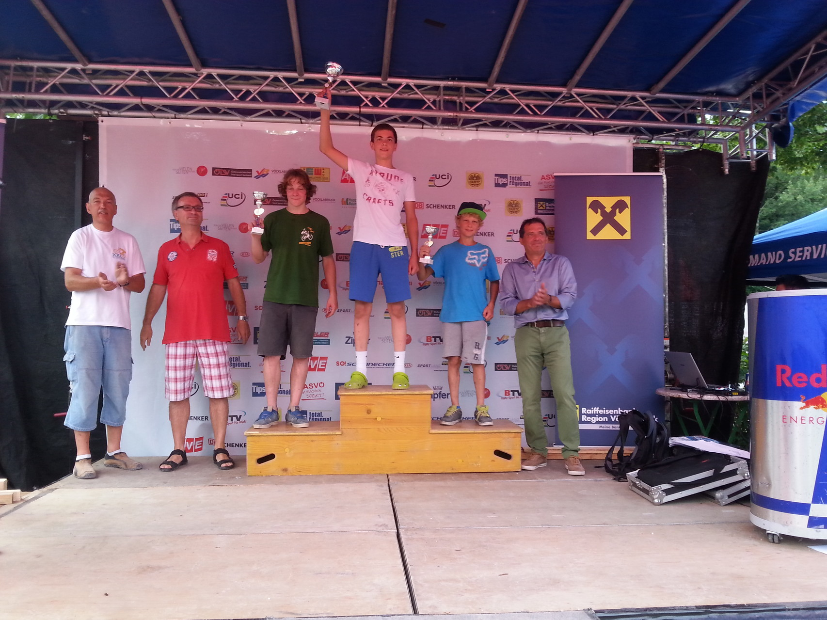 3. Platz 02.08.2014 grüne Spur Vöcklabruck
