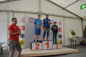 3. Platz Staatsmeisterschaft Trial in Turnau 2014
