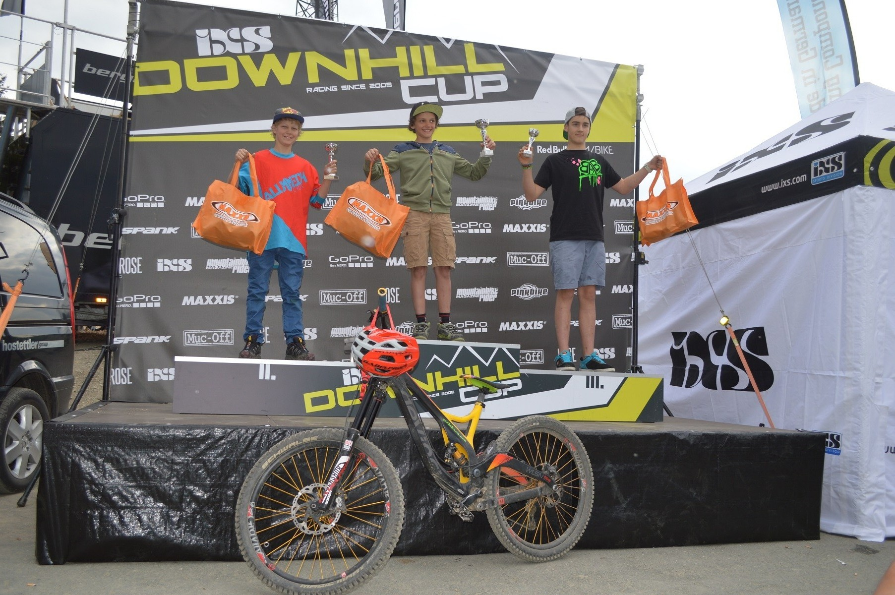 2. Platz beim Downhill Rookie Cup 2015 Winterberg (GER)