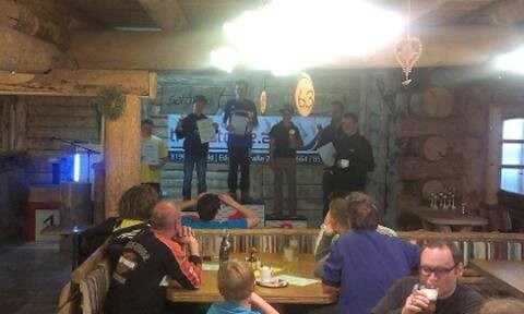 2. Platz Trialbike grüne Spur Salzstiegl 2014