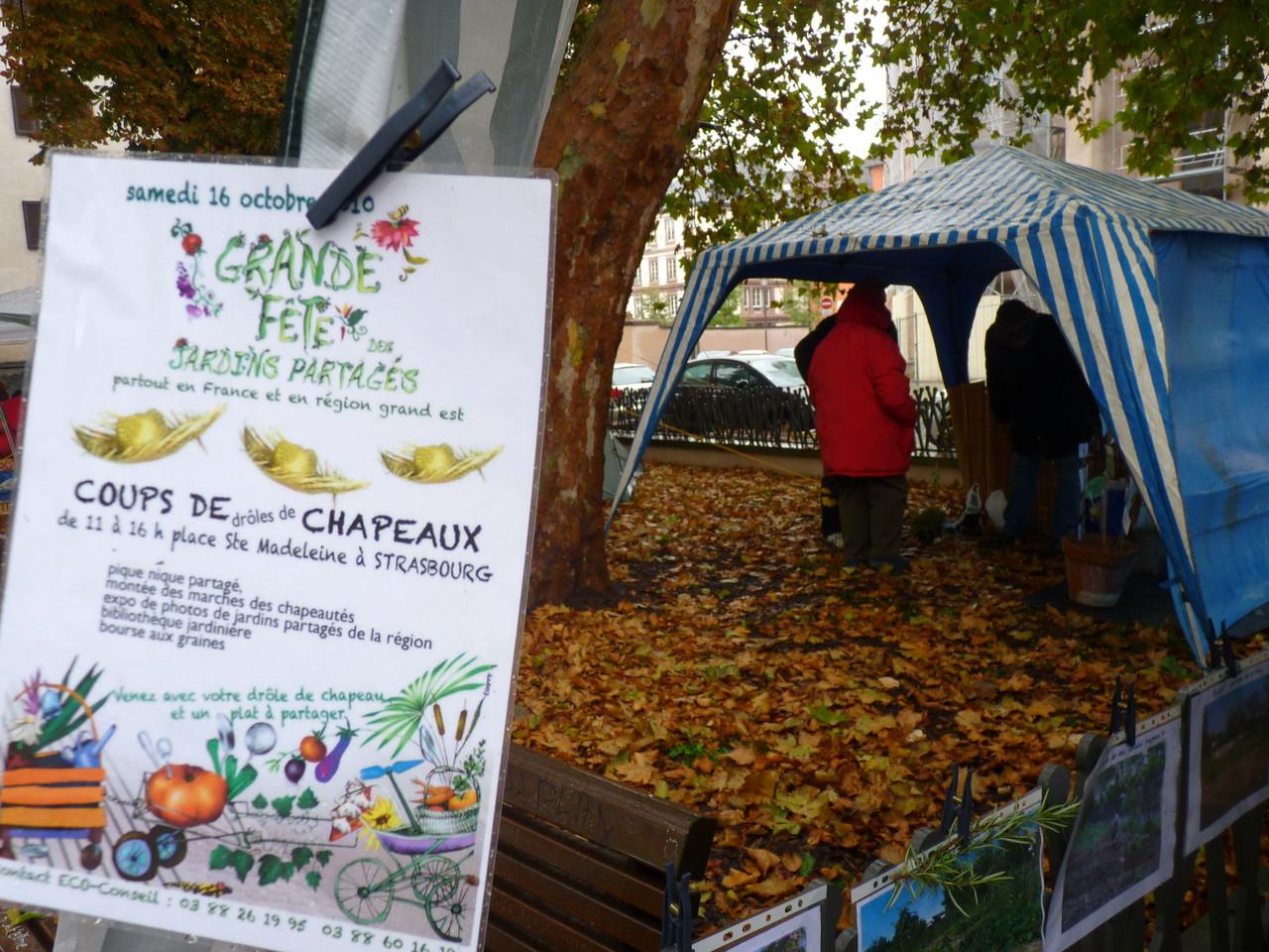 Fête des jardins partagés à Strasbourg