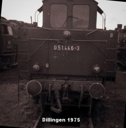 Kabinentender von 50 1446 Dillingen  1975