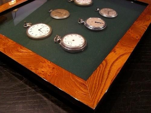 Objektrahmen für Taschenuhren
