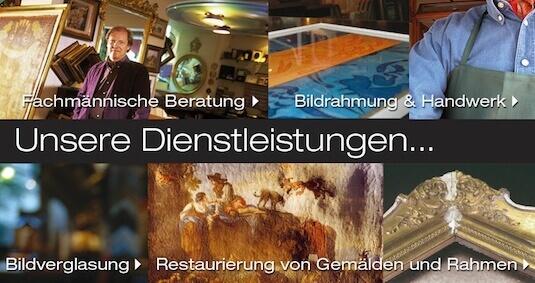 Bilderrahmen Wien Gregor Eder - Fachberatung und Anfertigung in unserer Werkstätte 1060 Wien