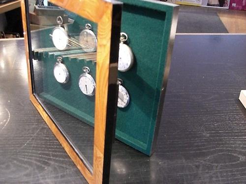 Schaukasten Rahmen für Taschenuhren