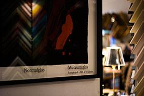 Museumsglas Prachensky bei Bilderrahmen Wien #www.bilderrahmen.at
