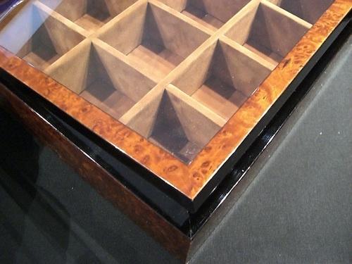 Schaukasten Objekt-Rahmen für Teebeutel