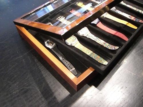Schaukasten Rahmen für Swatch Armbanduhren