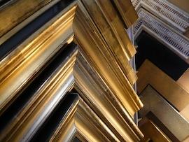 Goldrahmen Silberrahmen klassisch