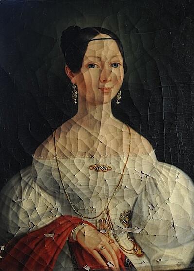 #Restaurierung Gemälde und Rahmen - #Restaurator Gregor Eder 1060 Wien