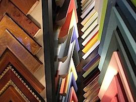färbige Holzrahmen um Ihre Bilder rahmen zu lassen
