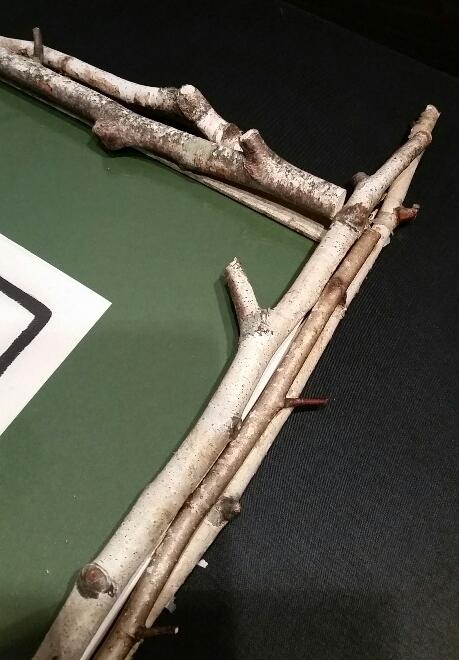 Rahmen Naturholz Birke