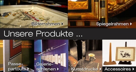 Bilderrahmen Wien  Gregor Eder - Alurahmen, Spiegelrahmen, Holzrahmen nach Maß