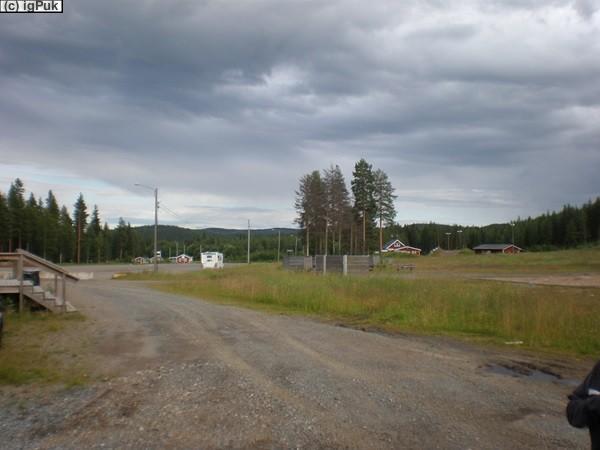 Liftparkplatz bei Älvsbyn