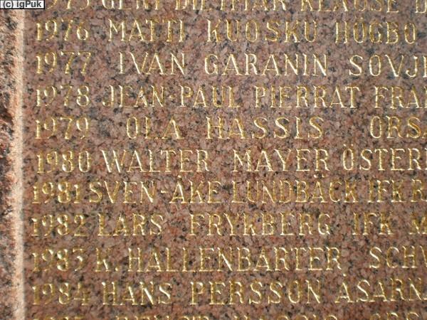 Sieger 1980 Walter Mayer