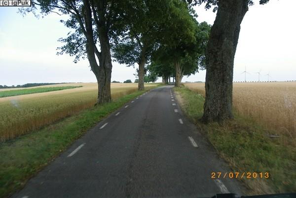 Landschaft nahe Skurup