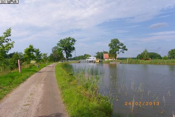 Götakanal zw. Lyrestad u. Sjötorp