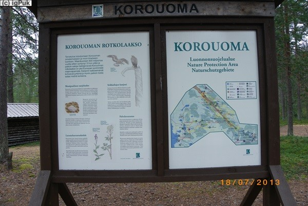 Korouoma Naturrastplatz