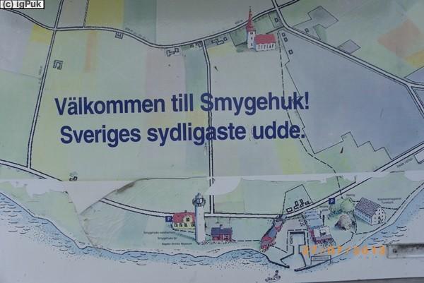 Smygehuk südlichster Punkt Schwedens