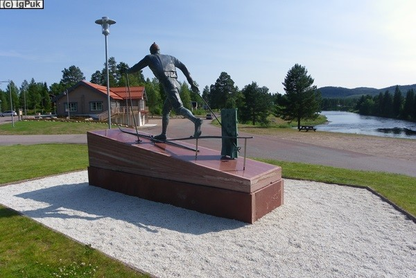 Denkmal Sixten Jernberg