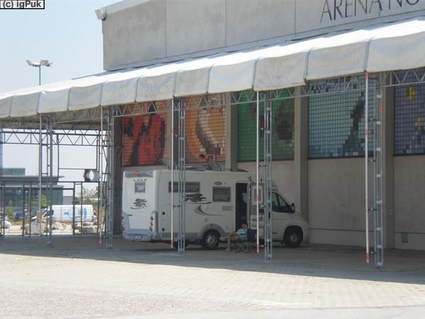 Schattenparkplatz Arena Nova Wr.Neustadt