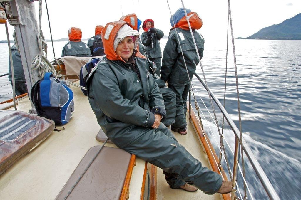Auf zum Wale-Watching, Johnston Strait
