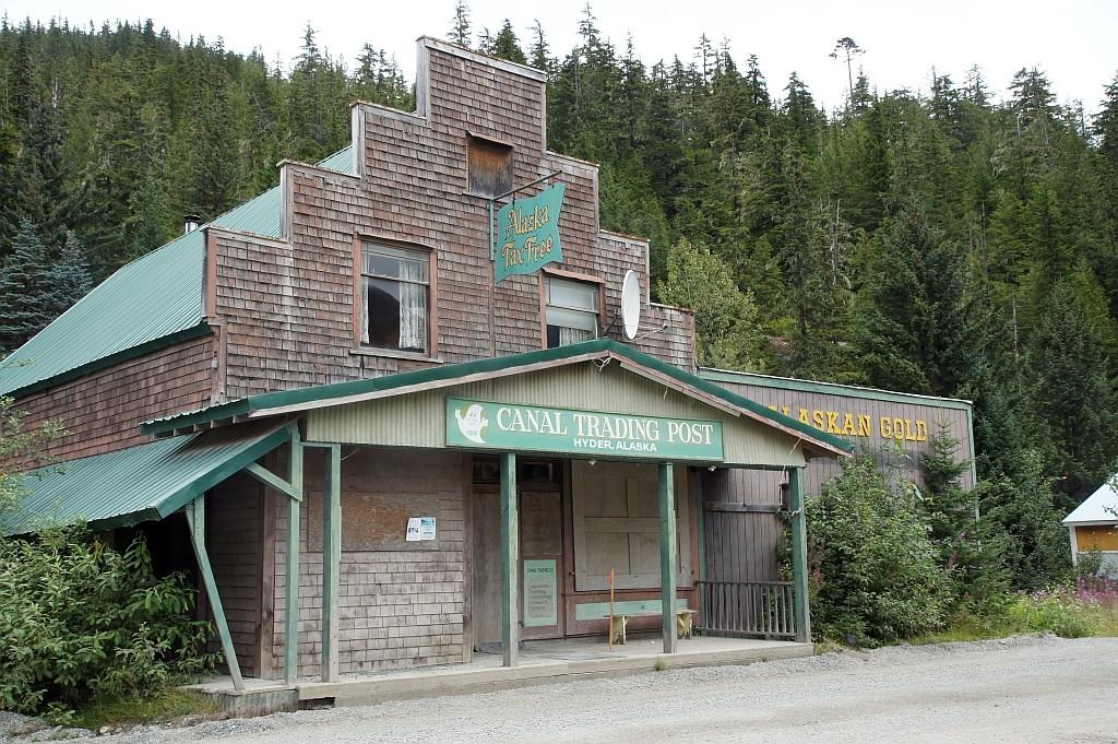 Alte Goldsammelstelle, Hyder, Alaska