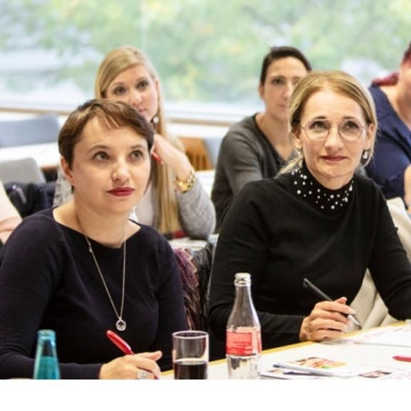 Beauty Messe Münchcen 2018 bei einem Workshop