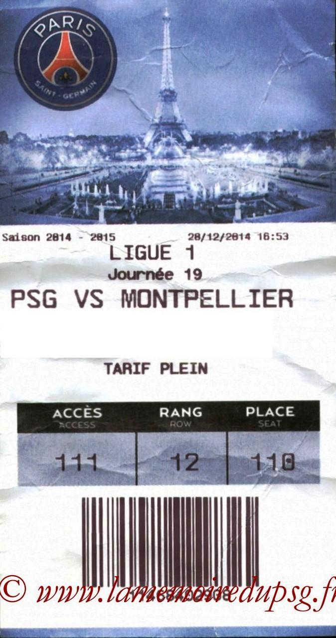 2014-12-20  PSG-Montpellier (19ème L1, E-ticket)