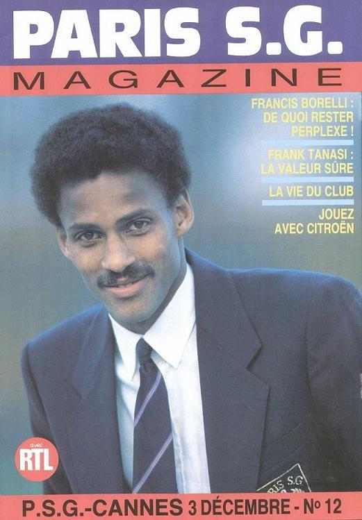 1988-12-03  PSG-Cannes (21ème D1, Paris SG Magazine N°12)