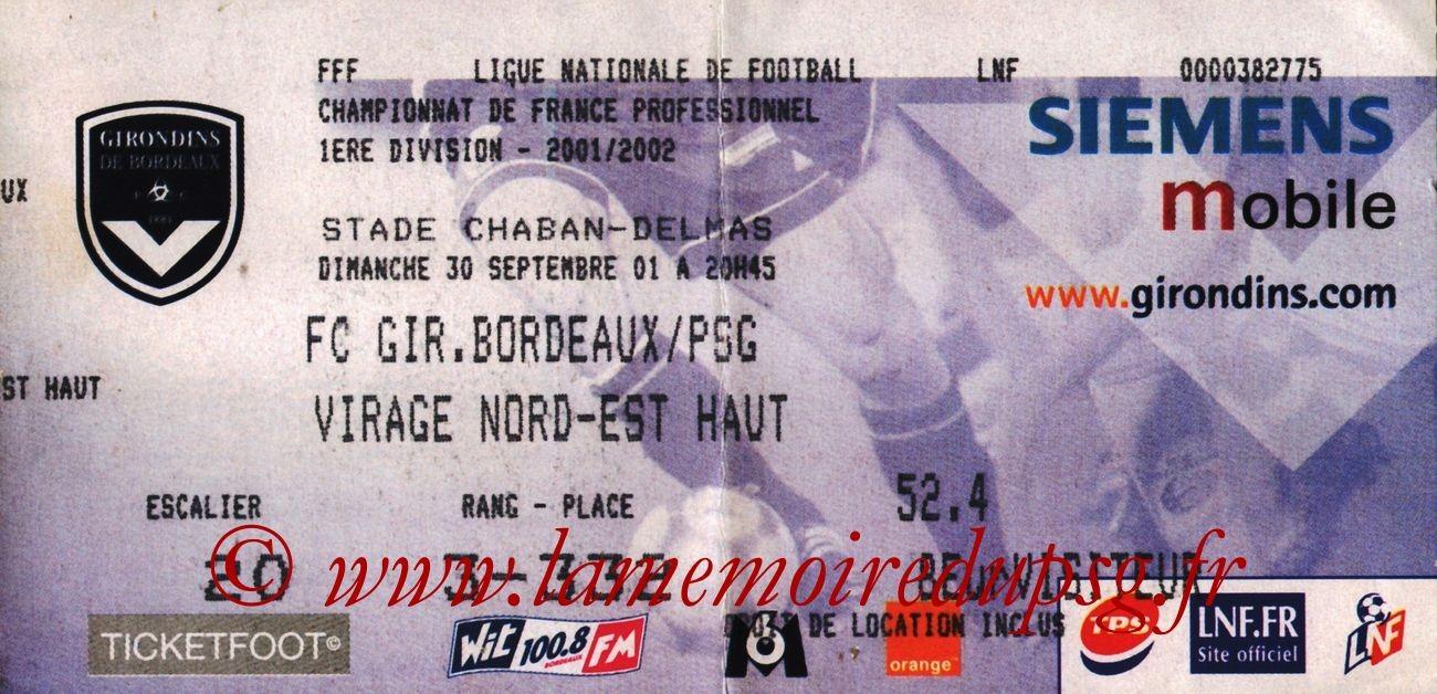 2001-09-30  Bordeaux-PSG (9ème D1)