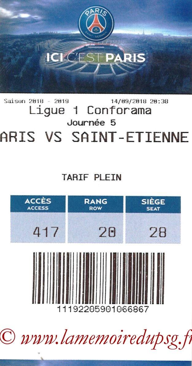 2018-09-14  PSG-Saint Etienne (5ème L1, E-ticket)