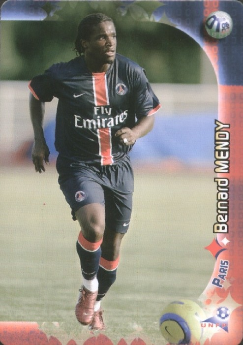 N° 134 - Bernard MENDY (Recto)
