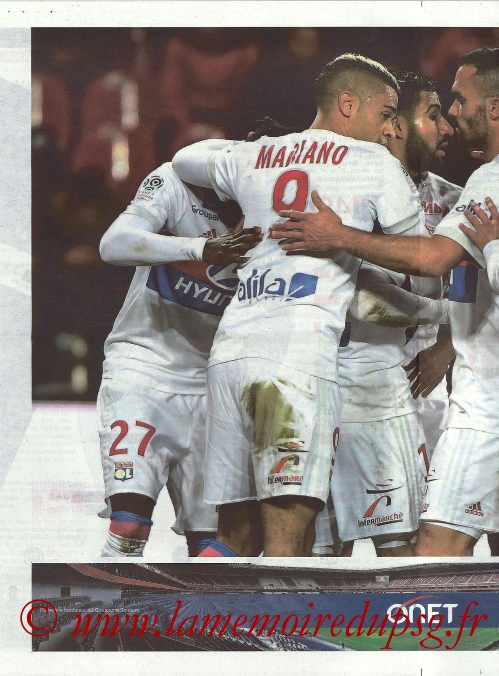2018-01-21  Lyon-PSG (22ème L1, La Tribune OL N° 244) - Page 10