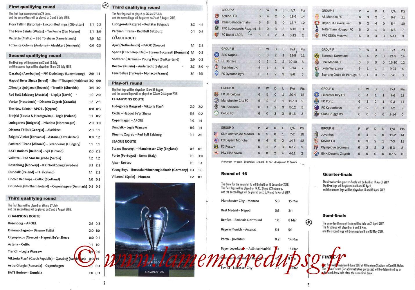 2017-03-08  Barcelone-PSG (8ème C1 retour, Programme pirate) - Pages 02 et 03